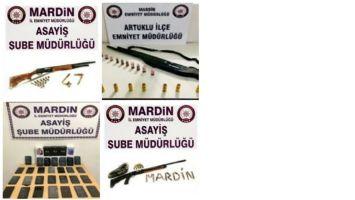 Mardin'de haklarında tutuklama kararı bulunan 185 kişi yakalandı