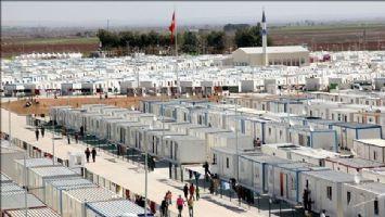 10 ilde kurulan çadırda 256 bin Suriyeli barınıyor