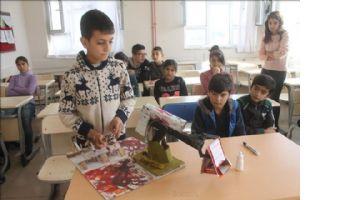 Suriyeli öğrencinin projeleri ilgi çekiyor