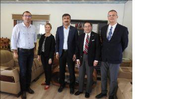 Amerika´nın Adana Konsolosu Alejandro Baez Mardin OSB´yi Ziyaret etti..