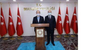 Bayburt Valisi Mardin'e geldi