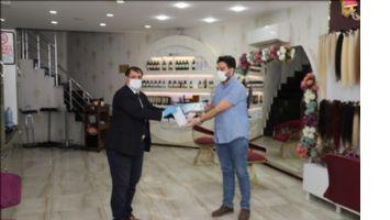 Mardin´de berber ve güzellik salonları dezenfekte edildi