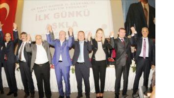Mardin AK Parti´de Aday Tanıtımı.