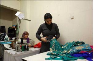 Mardin`de bini aşkın kadın podyuma çıkacak
