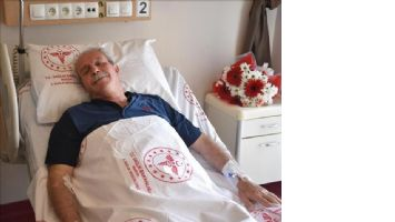 Başkan Tutaşı, hareketli tansiyon tanısı ile hastaneye yatırıldı