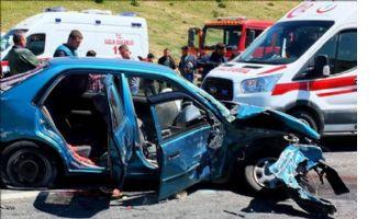 Mardin`de zincirleme trafik kazası: 9 yaralı