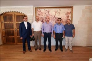 Mardin-Suriye Platformu Vali Yaman´ı ziyaret etti