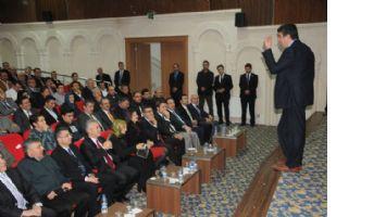 Mardin`de İl yöneticilerine `liderlik` semineri verildi