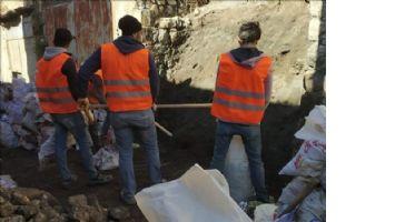 Mardin´de Tarihi Sokaklarda Restorasyon Çalışmaları