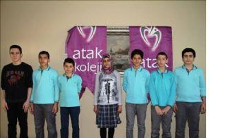 Atak Koleji 2 Türkiye Birincisi Çıkardı
