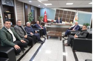 GGF´den Şanlıurfa Büyükşehir ve Merkez İlçe Belediyelerine Ziyaret
