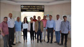 Belediye Başkanı Elik Hububat Ticaret Merkezini Ziyaret etti.