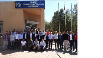 CHP Heyeti, Mardin OSB´yi Ziyaret
