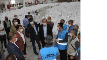 İhtiyaç Sahiplerine 11 bin Gıda Paketi