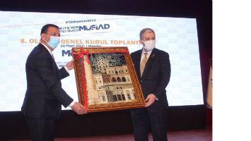 MÜSİAD'ta Mehmet İleri, yeni dönem için güven tazeledi