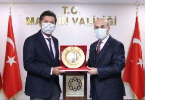 Sri Lanka'nın Ankara Büyük elçisi Hassen'den Vali Demirtaş'a Ziyaret
