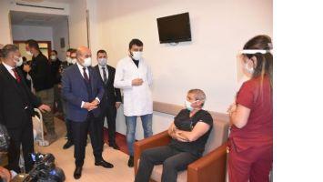 Mardin'de 6 bin 500 Sağlık Çalışanına Covid-19 aşısı