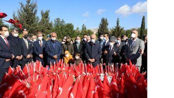 Kızıltepeli genç sporcular Çanakkale şehitlerini unutmadı
