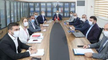 MARSU'da  Haftalık Değerlendirme Toplantısı