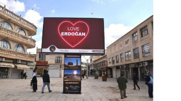 Midyat Belediyesinden 5 Dilde Erdoğan Sevgisi