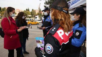 Mardin'de Polis, kadına şiddete hayır dedi