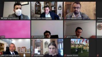 'UNESCO Yaratıcı Şehirler Ağı Çevrimiçi İstişare Toplantısı' yapıldı