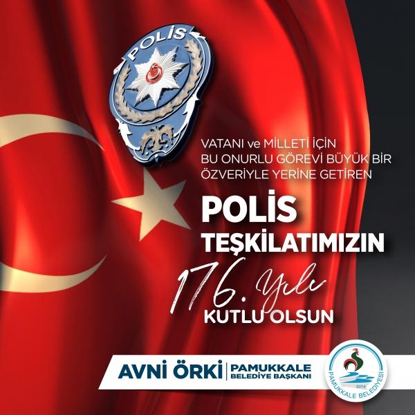 Başkan Avni Örki'den 10 Nisan mesajı