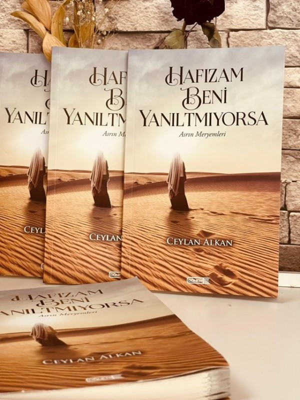 Ceylan Alkan'ın ikinci kitabı çıktı