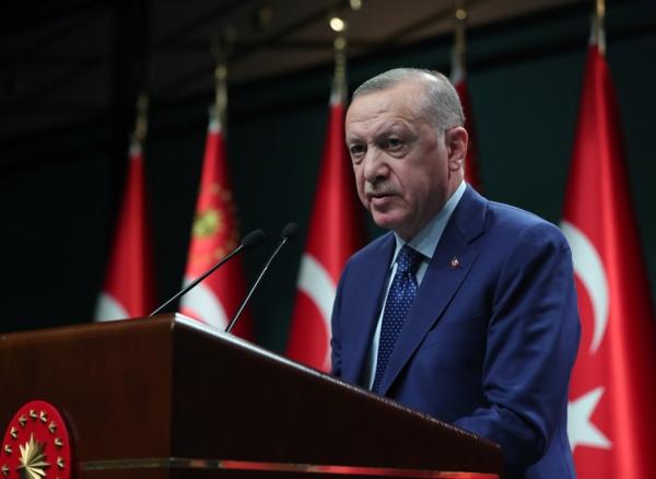 Cumhurbaşkanı Erdoğan'dan polislere kutlama mesajı
