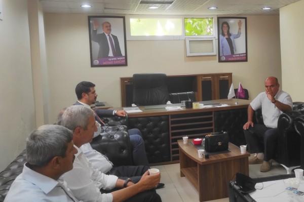 DEVA Partisi'nden HDP'ye Taziye Ziyareti