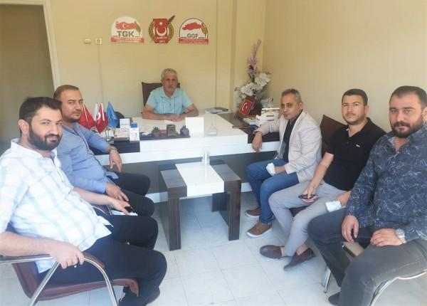 DEVA Yönetimi, Gazeteciler Federasyonunu Ziyaret etti