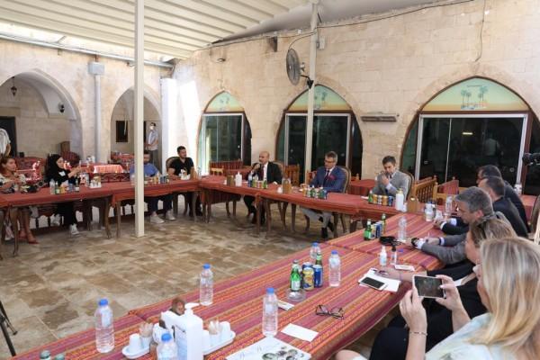 Kürşat Tüzmen'den Vali Demirtaş'a ziyaret