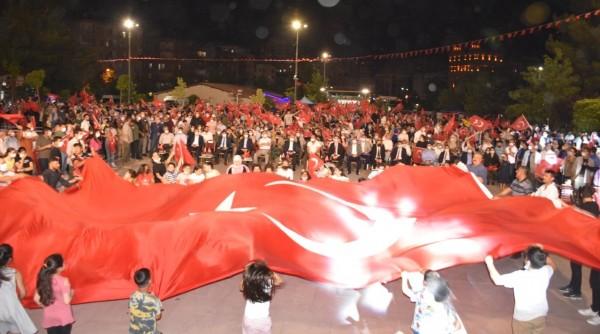 Mardin'de 15 Temmuz Unutulmadı