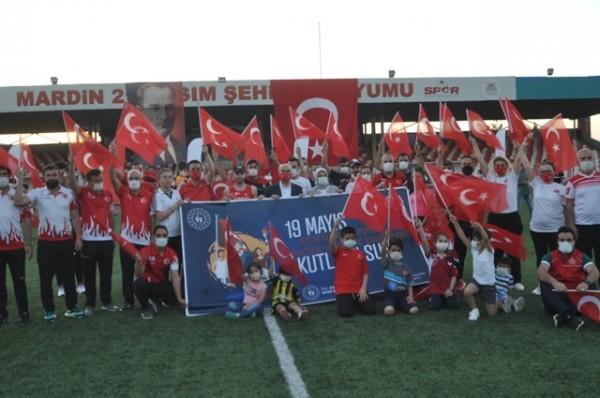 MARDİN'DE 19 MAYIS KUTLAMASI