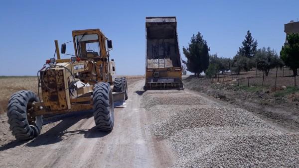 Mardin'de İlçe Grup Köy Yolları asfaltlanıyor