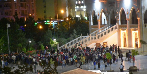 Mardin'de İsrail Protestosu