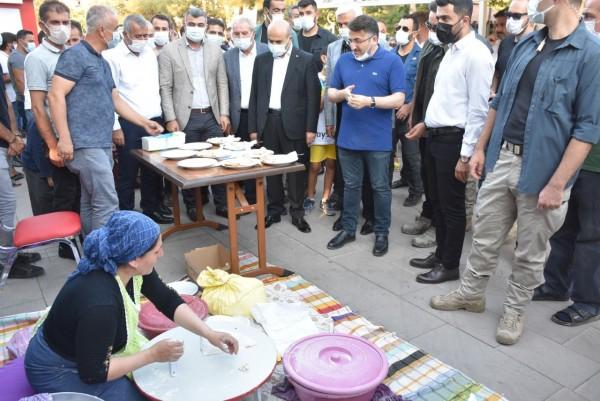 Mardin Yöresel Ürünleri Halka tanıtıldı
