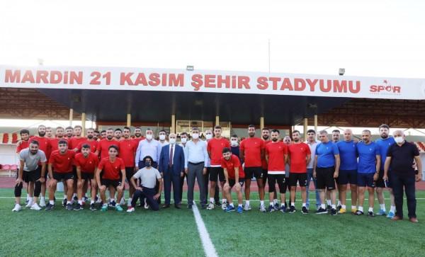 Mardin1969Spor Top Başı Yaptı