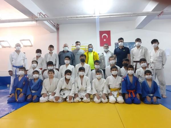 Mardin'de Judo kuşak sınavı