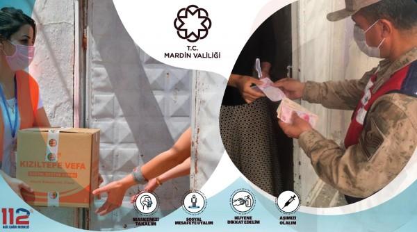 Mardin'de Vefa Sosyal Destek Grupları Çalışmalarına Aralıksız Devam Ediyor