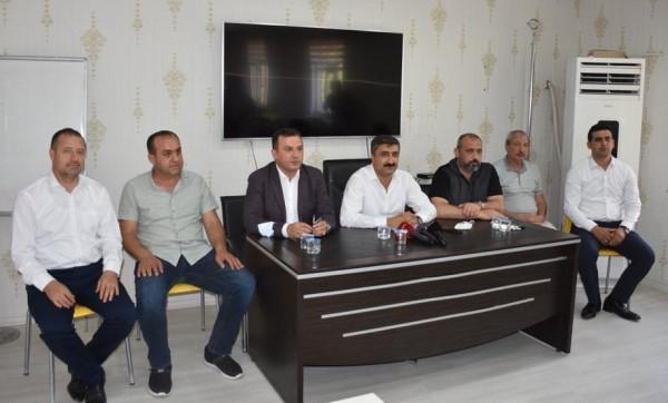 Mardinspor Yönetimi Görev Başında