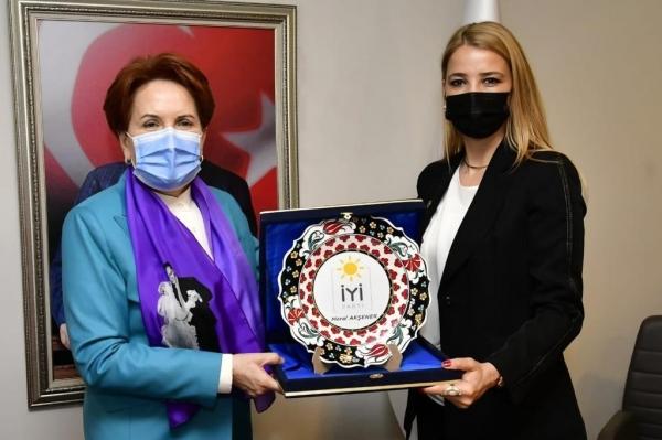Meral Akşener TÜGİAD'ı ağırladı