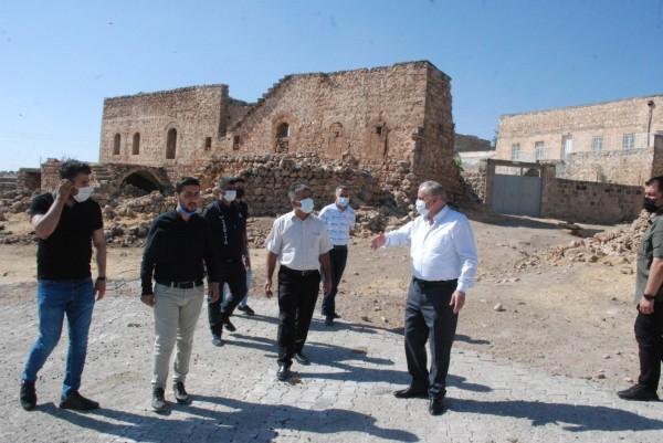 Midyat'ta   kırsal mahallelere hizmet atağı