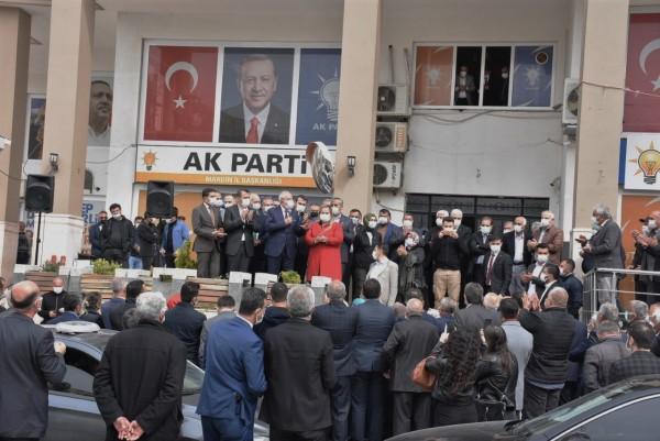 MKYK Üyeliğine seçilen Miroğlu'na coşkulu karşılama