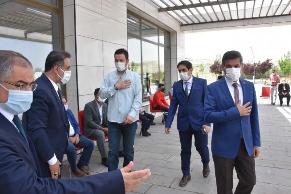 Rektör Özcoşar'dan  taziye teşekkürü