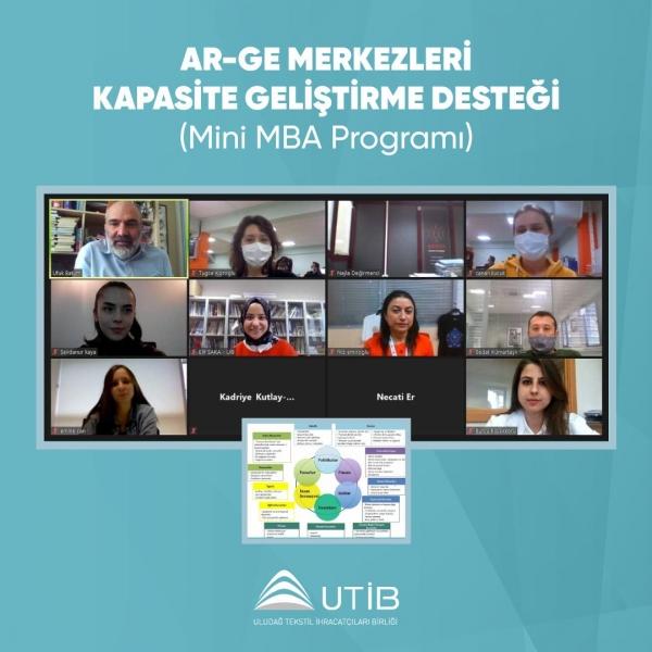 UTİB'de firmalara iş modeli geliştirme eğitimi